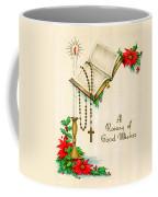 Rosary Good Wishes Coffee Mug