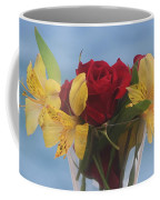 Rose And Peruvian Lilies Coffee Mug