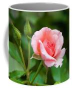 Rose And Raindrops Coffee Mug