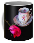 Rose And Tea Cup Coffee Mug