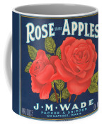 Rose Brad Apples Crate Label Coffee Mug