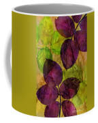 Rose Clippings Mural Wall Coffee Mug