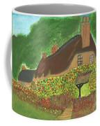 Rose Cottage Coffee Mug