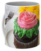 Rose Cupcake Coffee Mug