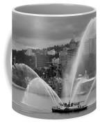 Rose Festival Fire Boat Coffee Mug