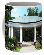 Rose Garden Pergola In Delaware Park Buffalo Ny Oil Painting Effect Coffee Mug