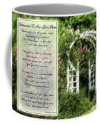 Rose Garden Prayer Coffee Mug