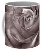 Rose In Black And White Coffee Mug