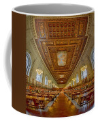 Rose Main Reading Room At The Nypl Coffee Mug