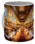 Rose Main Reading Room Coffee Mug