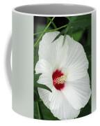 Rose Mallow - Honeymoon White With Eye 05 Coffee Mug