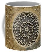 Rose Of The Cathedral Of San Giusto Coffee Mug