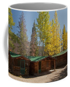 Rose Twin 1 And Twin 2 Cabins At The Holzwarth Historic Site Coffee Mug