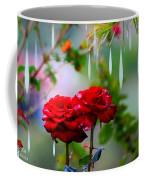 Rose Water Drops Coffee Mug