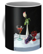 Rose Wine And Fruit Coffee Mug