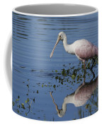 Roseate Spoonbill Hunting Coffee Mug