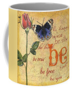 Roses And Butterflies 1 Coffee Mug