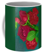 Roses And Carnations Coffee Mug