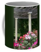 Roses And Pergola Coffee Mug