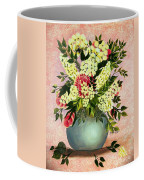 Roses And White Lilacs Coffee Mug