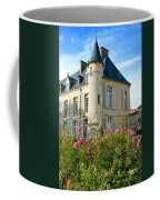 Roses At The Castle Coffee Mug by Olivier Le Queinec