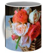 Roses Florentine Coffee Mug
