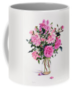 Roses In A Glass Jar  Coffee Mug by Christopher Ryland