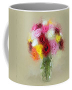Roses In A Vase 1 Coffee Mug