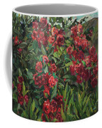 Roses In The Mountains Coffee Mug