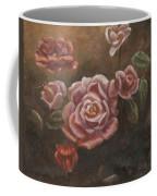 Roses In The Sun Coffee Mug by Elizabeth Lane