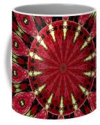Roses Kaleidoscope Under Glass 11 Coffee Mug