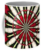 Roses Kaleidoscope Under Glass 17 Coffee Mug