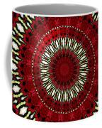 Roses Kaleidoscope Under Glass 18 Coffee Mug
