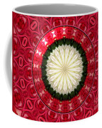Roses Kaleidoscope Under Glass 19 Coffee Mug