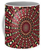 Roses Kaleidoscope Under Glass 21 Coffee Mug