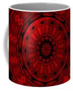 Roses Kaleidoscope Under Glass 22 Coffee Mug