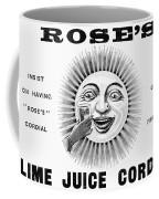 Roses Lime Juice Cordial Coffee Mug