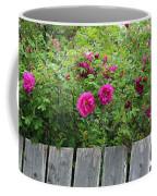 Roses On A Fence Coffee Mug