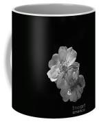 Roses On Black Coffee Mug