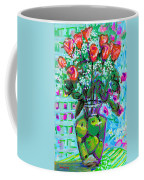 Roses With Apples Coffee Mug