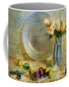 Roses With Figs Coffee Mug by Diana Angstadt