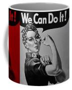 Rosie In American Colors Coffee Mug