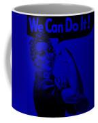 Rosie In Blue Coffee Mug