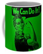 Rosie In Green Coffee Mug