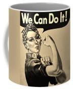 Rosie In Sepia Coffee Mug