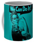 Rosie In Turquoise Coffee Mug
