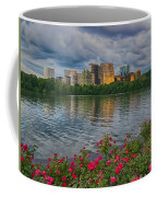 Rosslyn Virginia Sunset From Across The Potomac River Coffee Mug