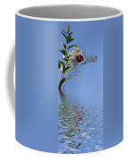 Rosy Reflection - Left Side Coffee Mug