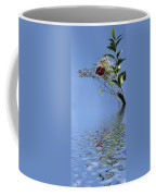 Rosy Reflection - Right Side Coffee Mug