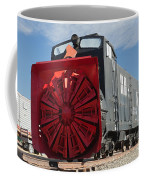 Rotary Snow Thrower 99201 In The Colorado Railroad Museum Coffee Mug